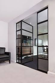 wohnzimmertür mit glas design wohnzimmermöbel ideen