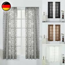 details zu 1 2 4 panels vorhang garn gardine verdunkelung fenster tüll vorhänge wohnzimmer