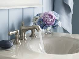 Kohler Bathroom Sink Faucets Widespread by Kohler K 10577 4 2bz Bancroft Widespread Bathroom Sink Faucet With