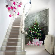 Large Christmas Ornaments Chandelier Via Lavenderandlilies