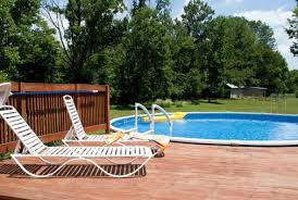 Above Ground Pool Deck Images by Above Ground Pools With Decks Pool Pricer