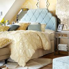 Hayworth Collection Pier One Yellow Blue Bedroom