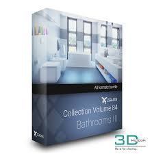 CgAxis Volume 84 Bathrooms III 3D Mili Download 3D
