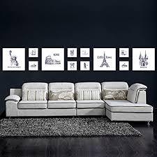 bilderrahmen foto wandschmuck wand wohnzimmer ideen aus der