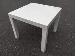 weißer ikea tisch bxlxh 55x55x45cm wohnzimmer