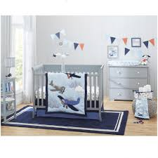Snoopy Crib Bedding Set by Bedroom Solid Wood Nightstand Carters Take Flight 4 Piece Crib