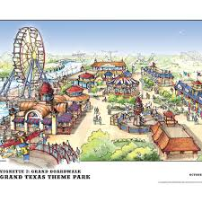 Full Renderings Of New AstroWorld Revealed Roller Coasters And More