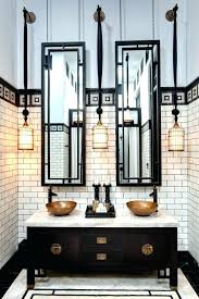 sumptuous black white bathroom pictures tricks to from hotel