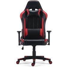 Staples Enhanced Gaming Chair, Red