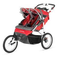 Double Curtain Rod Walmart Canada by Baby Trend Navigator Double Jogger Stroller Tropic Walmart Com