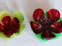 How To Make Waste Plastic Bottle Flowers