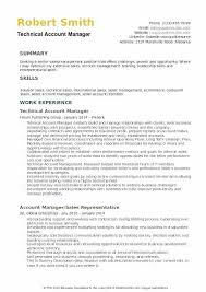 Bank Manager Resume Samples Account Sample Technical Relationship
