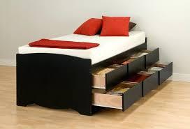 twin platform storage bed u2013 robys co