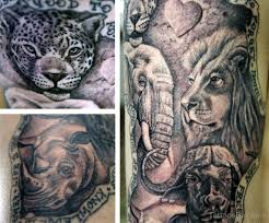 Animal Tattoo Design Category African Tattoos