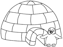 Full Size Of Coloring Pageigloo Page Preschool Kids Learning Pages Igloo