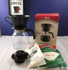 Ready For The BEST Coffee Ever Check Out This Melitta Cone Filter Pour Over Maker