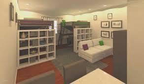 Studio Apartment Design Ideas 300 Square Feet New Bedroom Kitchen Bed