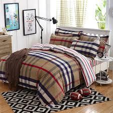 housse de couette burberry 2017 summer bedding set duvet cover size bed sheet morden