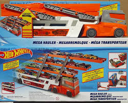 Jual New Hot Wheels Hw Mega Hauler Truck Multi Layer. Mainan Mobil ...