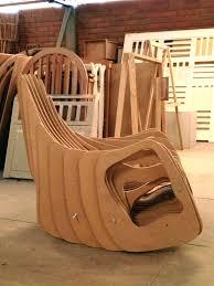 100 Plywood Rocking Armchair Mamulengo By Eduardo Baroni Chair MOCO LOCO Submissions