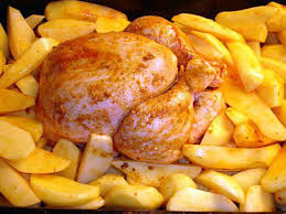 comment cuisiner des pommes de terre recette de poulet au four et ses pommes de terre