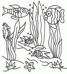 Garden Scene Coloring Pages Printable Animals Sheets
