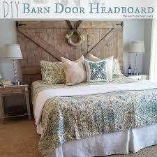 The Kurtz Corner DIY Barn Door Headboard