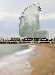 100 The W Barcelona Iconic Tower View From ET Bar Travel