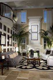 Decorating Your Home Design Ideas With Best Ellegant Two Story Living Room And The