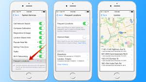 Use iPhone Location History to See a Map With the Frequent Locations