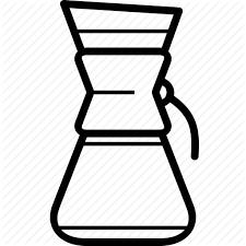 Chemex Coffee Machine Coffeemaker Ground Pour Over Icon