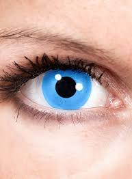 Blue Prescription Halloween Contacts by 19 Theatrical Contacts Prescription Cat Eye Special Effect