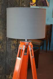 Surveyor Floor Lamp Tripod by Pair Of Wood And Aluminum Chicago Surveyor Tripod Floor Lamps At