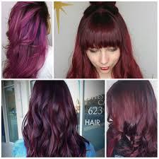 New Purple Hair Color 323699 Supreme Plus Layered Light Brown