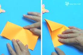 Easy Paper Heart Flower Craft For Kids
