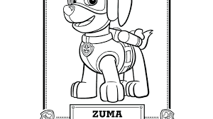 Paw Patrol Tracker Printable Coloring Pages Also Free Together With Characters