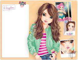 Gallery Of Profielen Home Nl Top Model Biz Coloriage Topmodel