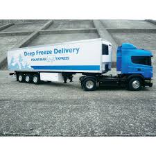 Tamiya Deep Freeze Delivery 1:14 RC 3 Axle Refrigeration