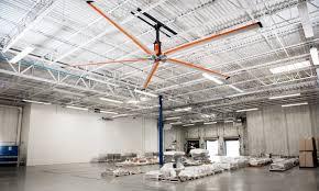 industrial warehouse hvls ceiling fans go fan yourself