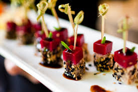 Wedding Appetizers Born To Be A Bride