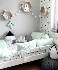 Modern Kids Room Grey White And Aqua Color Palette