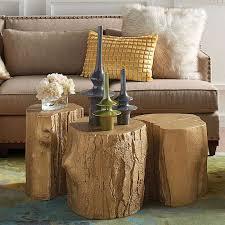 deco tronc d arbre déco créative à faire soi même projets inspirés par la nature
