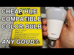 my review of the jiawen rgbw bulb philips hue compatible hue