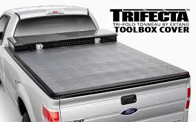tonneaucovers com extang trifecta toolbox tonneau cover