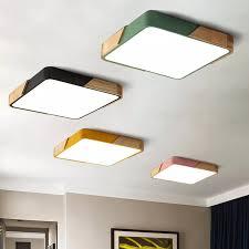 kaufen moderne platz 220v led decke lichter acryl dimmbare