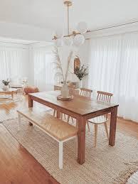 boho bohemian white wood gemütliches esszimmer wohnraum