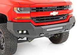 100 Chevy Silverado Truck Parts HeavyDuty Front LED Bumper For 1618 1500 10772 Rough