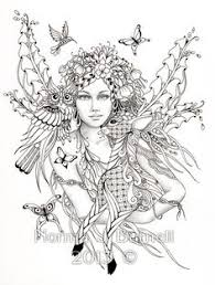 Spectacular Adult Fairy Coloring Pages