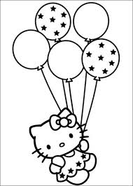 Hello Kitty Coloring Pages Free To Print 64 Picture