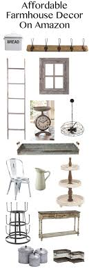 Affordable Farmhouse Decor On Amazon Tons Of Great Items To Add A Rustic Touch